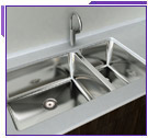Cantrio Koncepts Double Bowl Undermount Kitchen Sinks