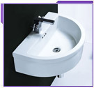 Cantrio Koncepts Wall Hung Bathroom Sinks