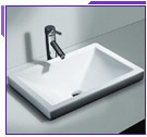 Cantrio Koncepts Self Rimming Bathroom Sinks