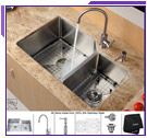 Kraus Kitchen Combo Sinks